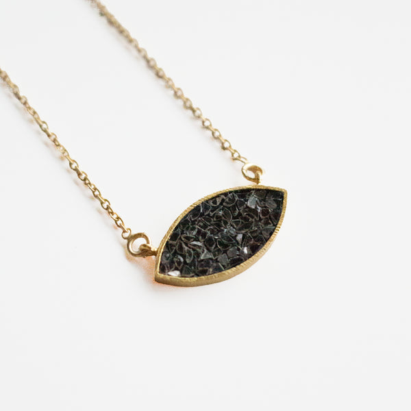 Indira Necklace - Black Deco Diamond