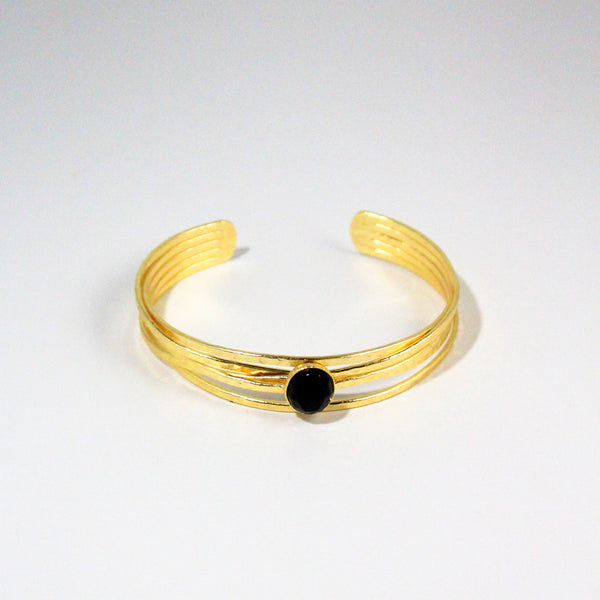 NEW! Rosalind Cuff- Black Onyx