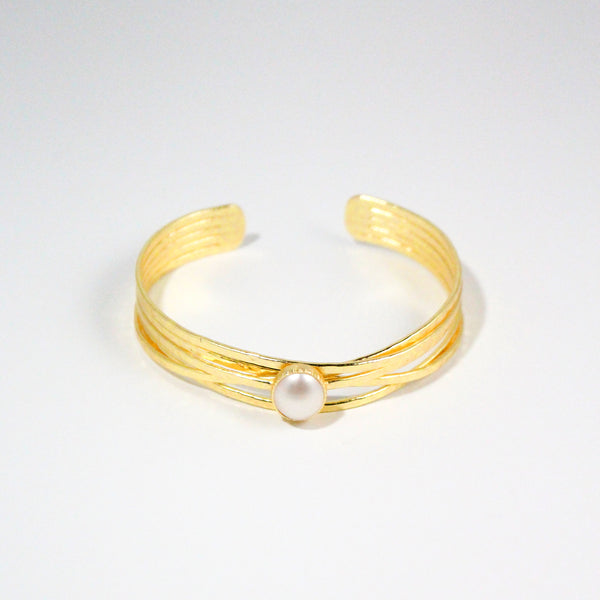 NEW! Rosalind Cuff- Freshwater Pearl