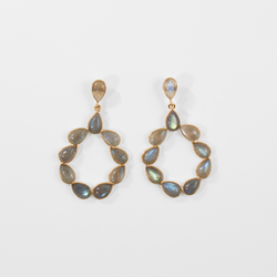 Marisol Earrings - Labradorite