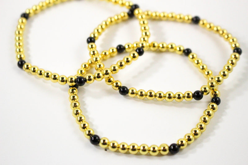 The Royal Bracelet: Gold, Black