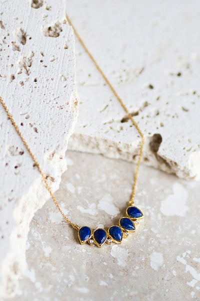 Becca Necklace- Lapis