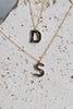 Deco Diamond Alphabet Pendant