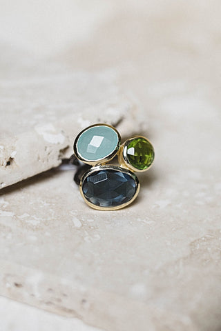 Salema Ring- Iolite