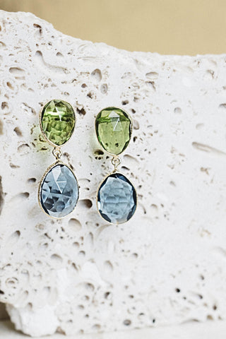 Patara Earrings- Iolite