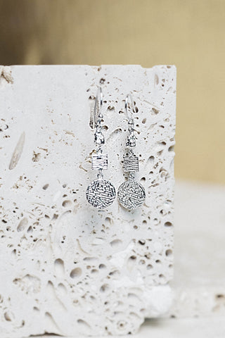 Elise Earrings- Silver
