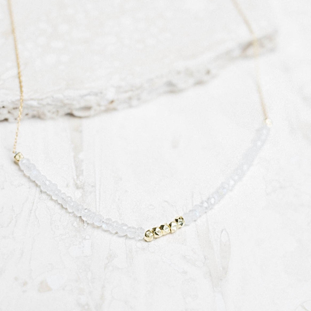 Allegra Necklace - Moonstone