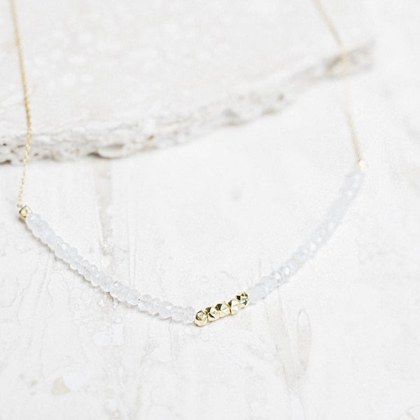 Allegra Moonstone Necklace