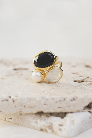 Gala Three Stone Ring