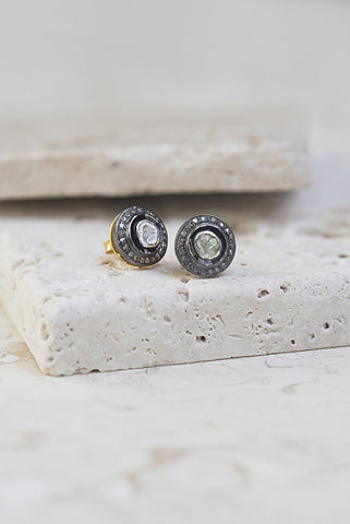 Heirloom Diamond Studs