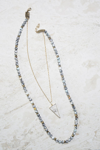 Mosaic Layered Necklace