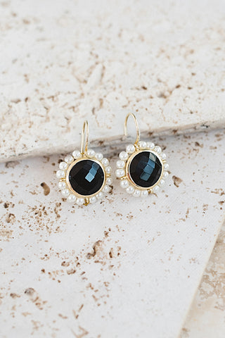 Meg's Favorite Earrings- Black Onyx
