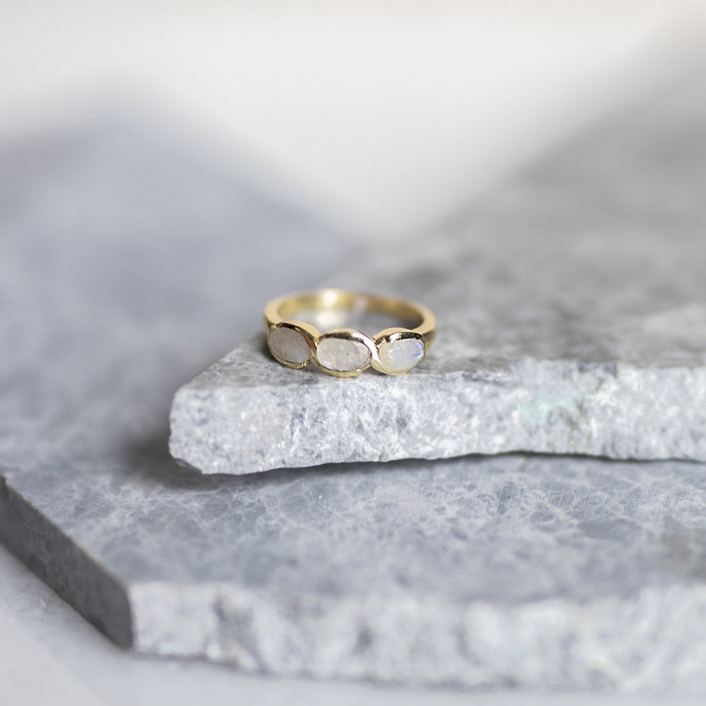 Clarice Moonstone Ring