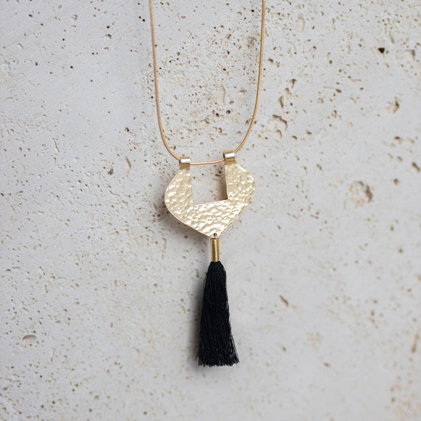 Niagara Tassel Necklace