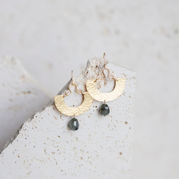 San Miguel Earrings- Labradorite