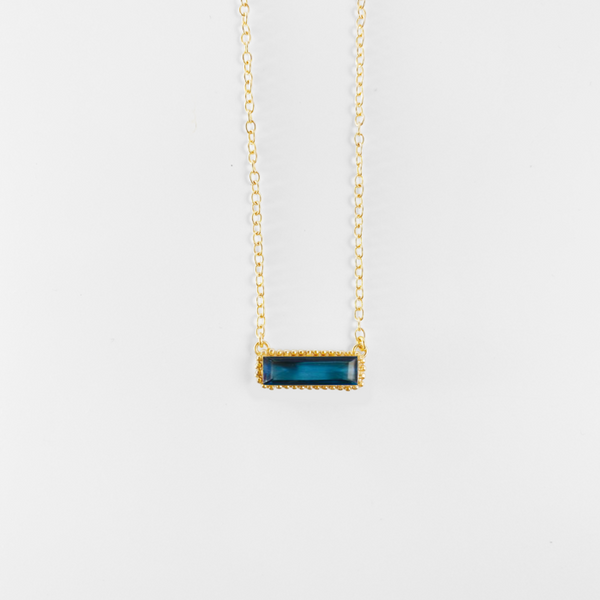 NEW! Margot Pendant Necklace - Blue Iolite