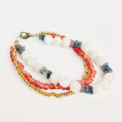 Philostrate Beaded Bracelet