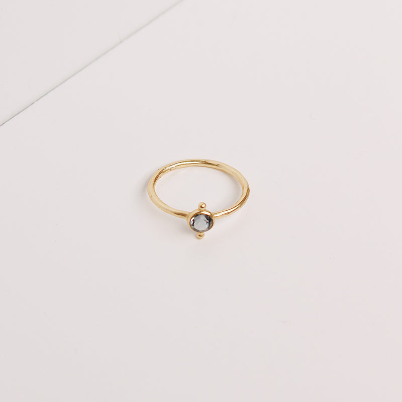 Maggie Stack Ring - London Blue