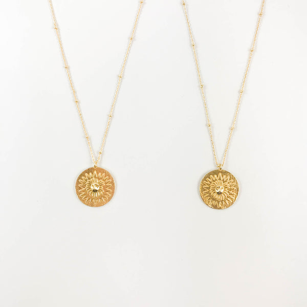 BOGiftO Lion Medallion Necklace