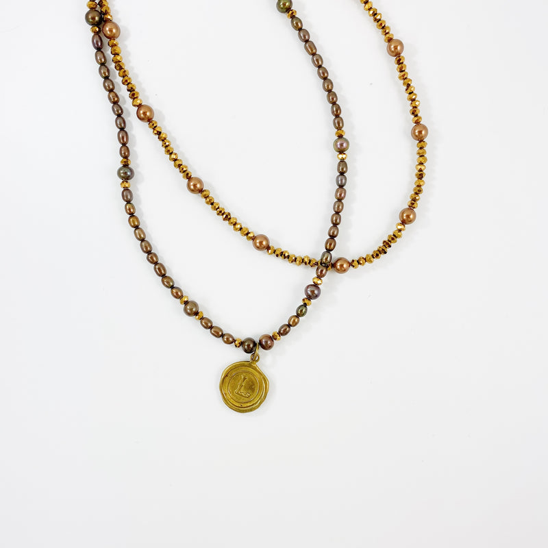 Laura Double Layered Necklace