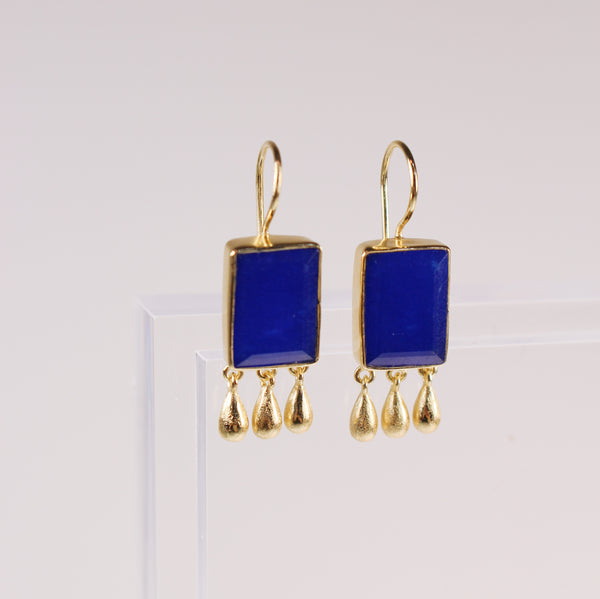 Norcia Earrings - Lapis