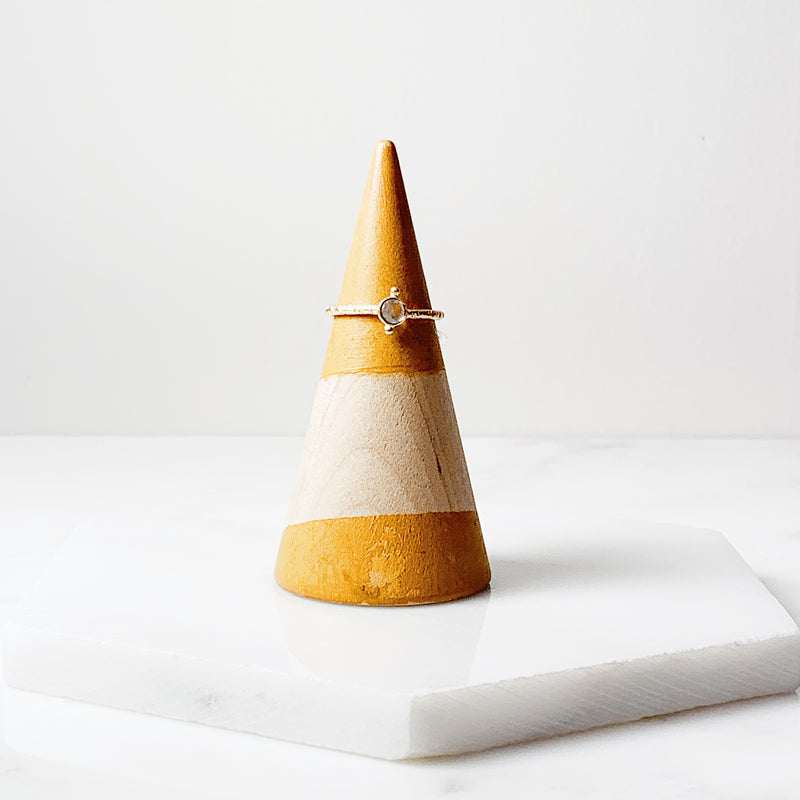 Maggie Stack Ring- Moonstone