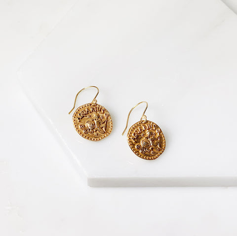 Zodiac Earrings- Aquarius