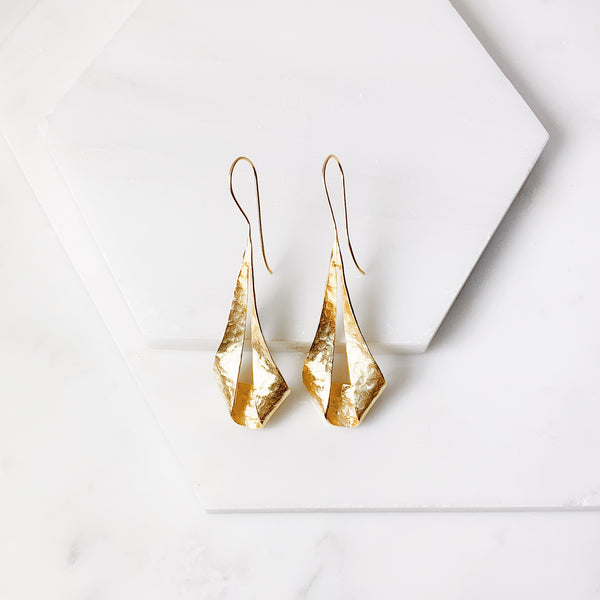 Laverne Earrings - Gold