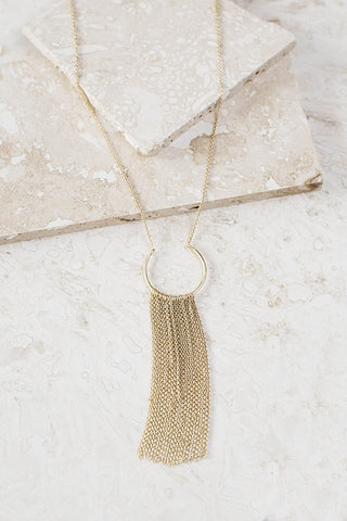 Essential Fringed Necklace