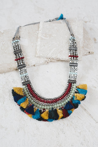 Saskia Tassel Necklace