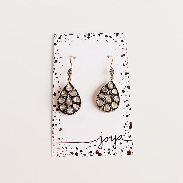 Atelier Teardrop Statement Earrings