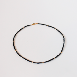 Luisa Necklace - Black Onyx