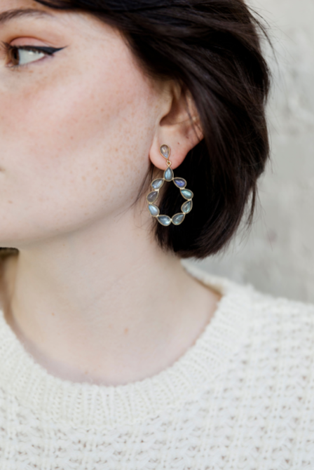 NEW! Marisol Earrings - Labradorite