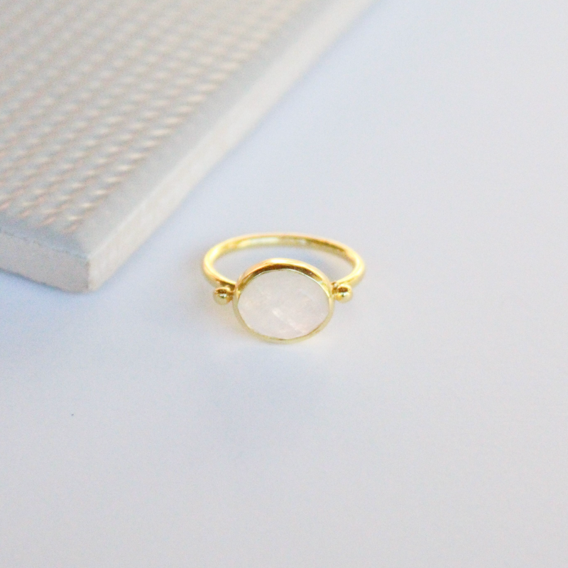NEW! Cassidy Ring - Moonstone