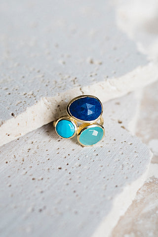 Salema Ring- Azure