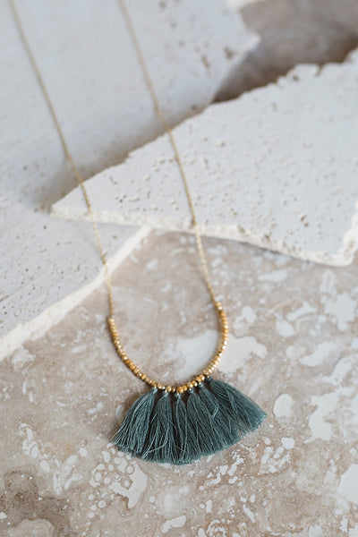 Mini Tassel Necklace