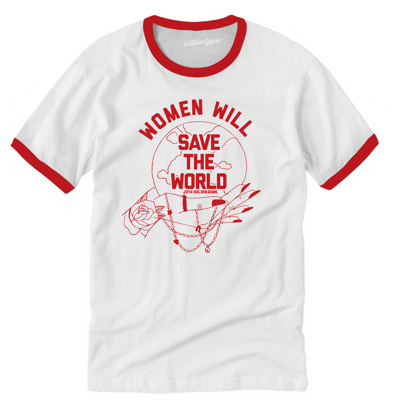 Women Will Save the World Vintage Tee