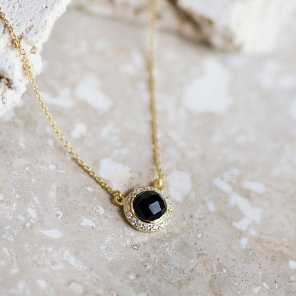 Celebration Pendant- Black Onyx
