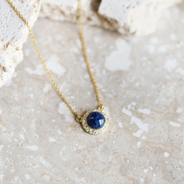 Celebration Pendant- Lapis