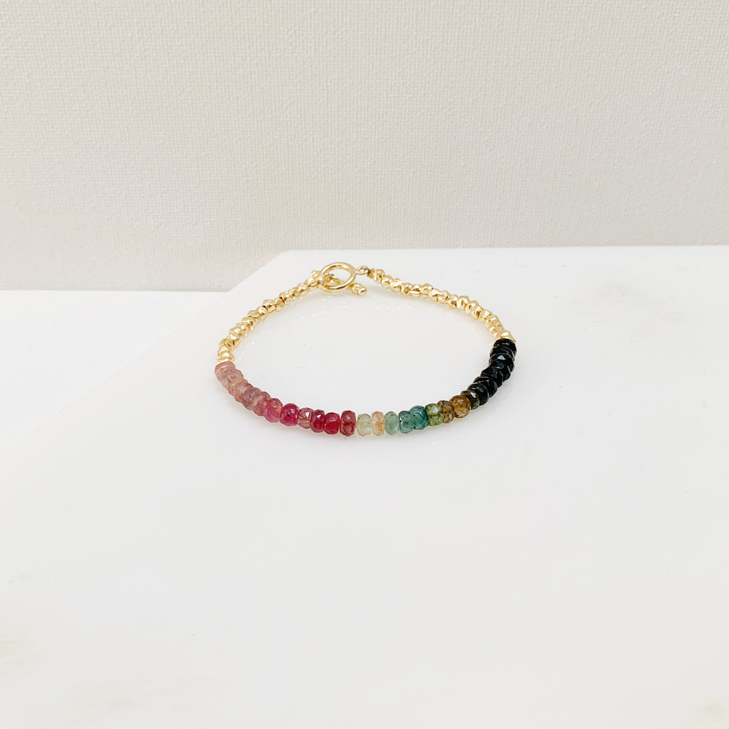 Verena Bracelet (Medium) - Tourmaline