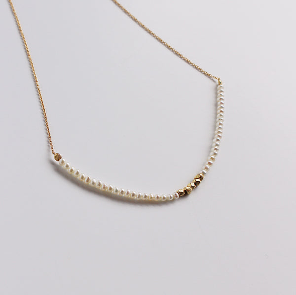 Allegra Necklace - Pearl