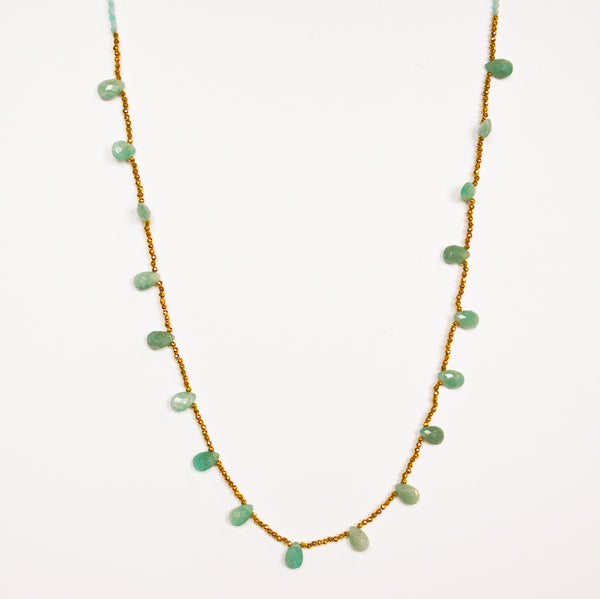 Guinevere Necklace - Amazonite