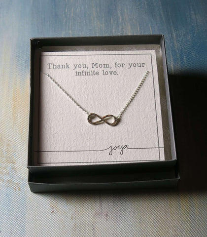 Mother's Day Infinity Necklace