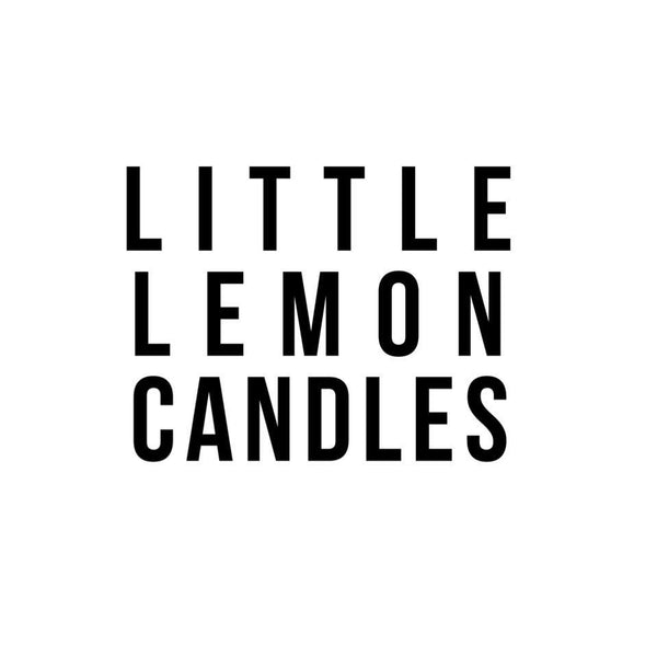 Little lemon candles-15% Off Entire Order