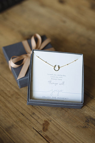 Custom Gift Wrap- A Reminder- Necklace