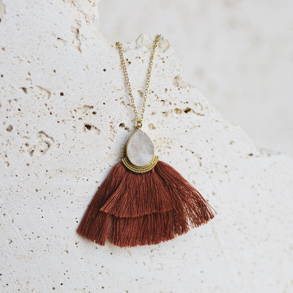 Dhana Necklace- Cinnamon