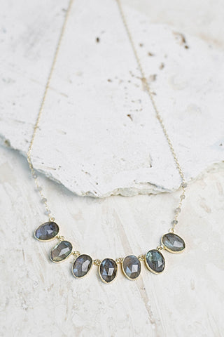 Lara Labradorite Necklace