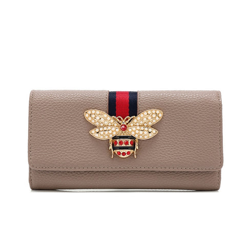 Bel Air Bee Wallet | NUDE
