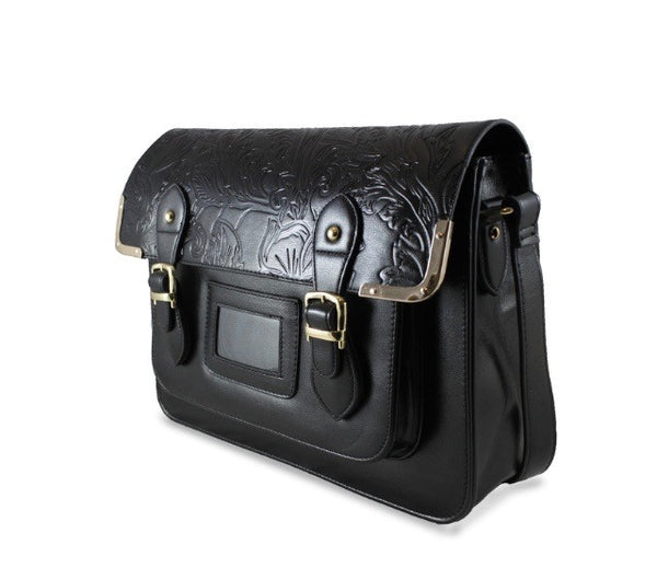 The 'SanFran' Satchel | BLACK