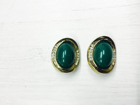 Vintage Vixen Oval Studs | AVAILABLE COLOURS